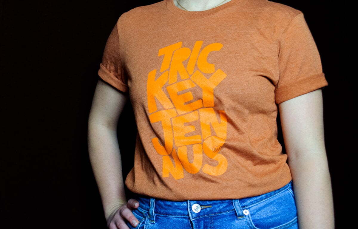 Trickey Jennus Orange Shirt Advertising Agency